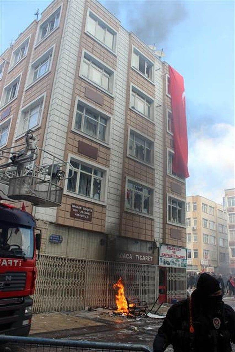 kayseri hdp binasına saldırı