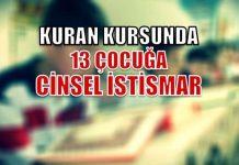 Giresun'un Aluçra ilçesindeki bir Kuran kursunda 13 çocuğa cinsel istismar ve tecavüz gerekçesiyle iddianame hazırlandı.