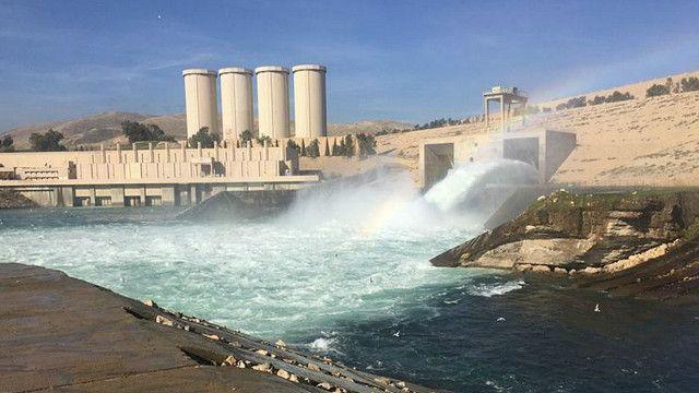 Musul Barajı'nı güçlendirme çalışmaları tehlike dev dalgalar