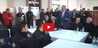 Bakan Özhaseki'den polislere: İnşallah siz de şehit olun