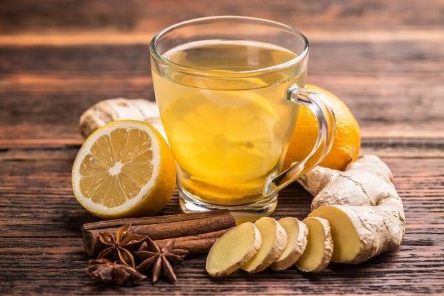 portakallı zencefil çayı