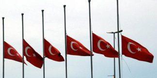 Türkiye'de milli yas: 38 şehit, 166 yaralı