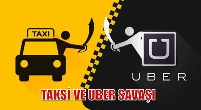 Daha önce taksiciler Uber'in korsan taşımacılık yaptığını söyleyerek uygulamanın tamamen yasaklanması gerektiğini söylemişlerdi.