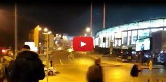 Video: Vodafone Arena'da patlama sonrası silah sesleri