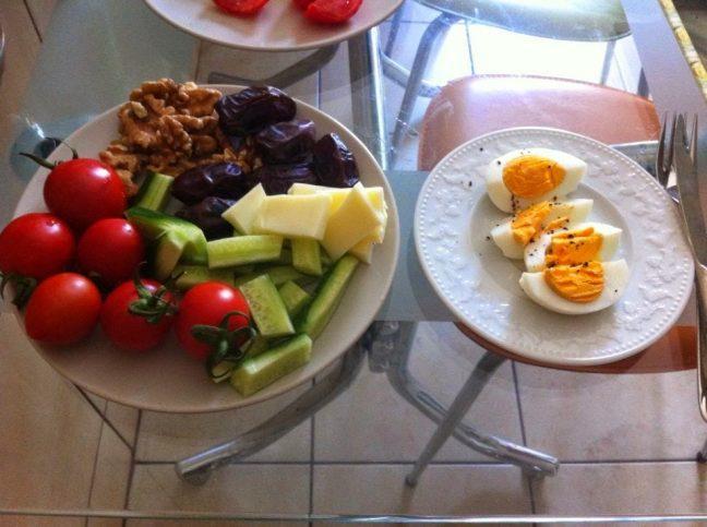 Yeni yıl kahvaltısı