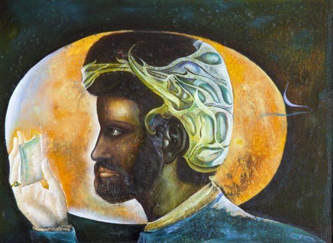 Erol Deneç resim sergisi: Fantastik gerçekçiliğin evrensel sanatçısı