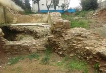 Kadıköy'de inşaat kazısında tarihi kalıntı bulundu!