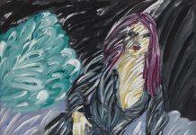 Ömer Uluç'un 'Mor Saçlı Kadın' isimli eseri 325 Bin TL'ye satıldı
