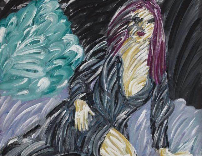 Ömer Uluç'un'Mor Saçlı Kadın' isimli eseri 325 Bin TL'ye satıldı