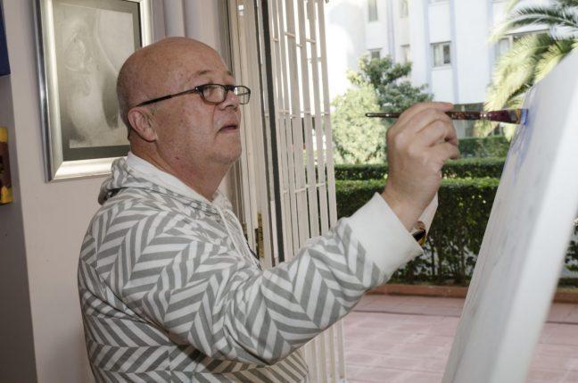 Ressam Tülin Kanun Bir Resim Yap Projesi ünlüler Ilk Defa Fırçayı