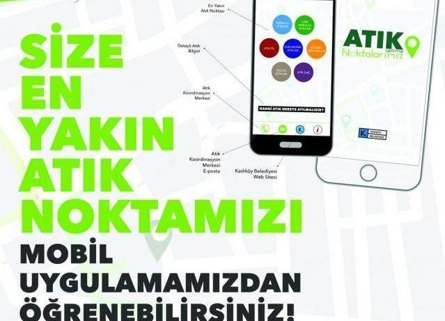 Kadıköy Belediyesi: Geri dönüşüm için akıllı telefon uygulaması geliştirdi!