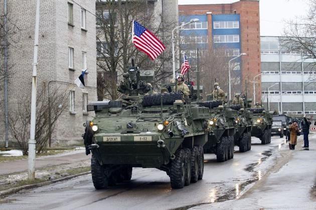 ABD tankları birkaç gün içinde Rusya sınırına dayanıyor