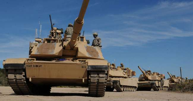 Amerikan tankları birkaç gün içinde Rusya sınırına dayanıyor