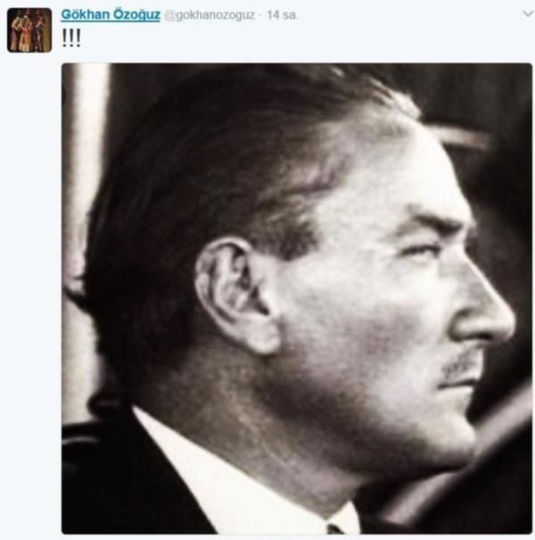 Athena Gökhan'dan Atatürk paylaşımı hayır kampanyası