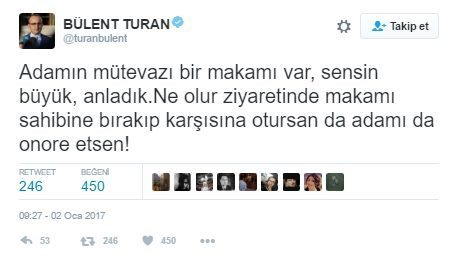 ak parti akp bülent turan berat albayrak twitter