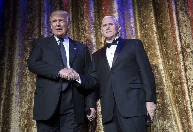 Donald Trump yemin töreni ABD Başkanı inauguration mike pence