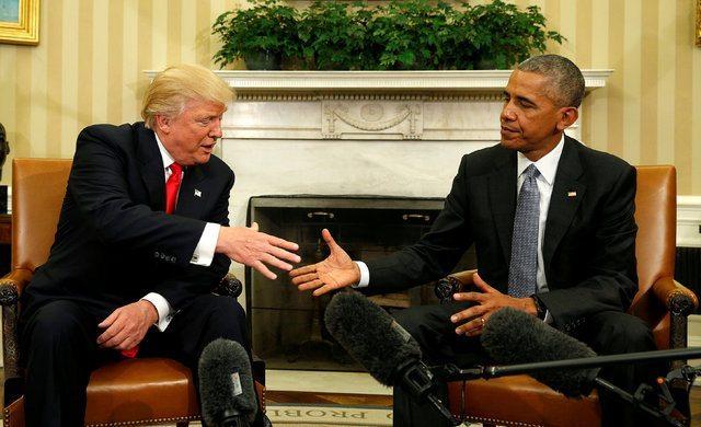 Donald Trump yemin töreni ABD Başkanı inauguration obama