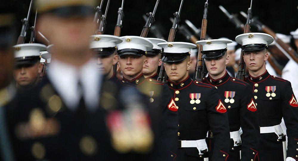 Donald Trump yemin töreni ABD Başkanı inauguration congress white house marines