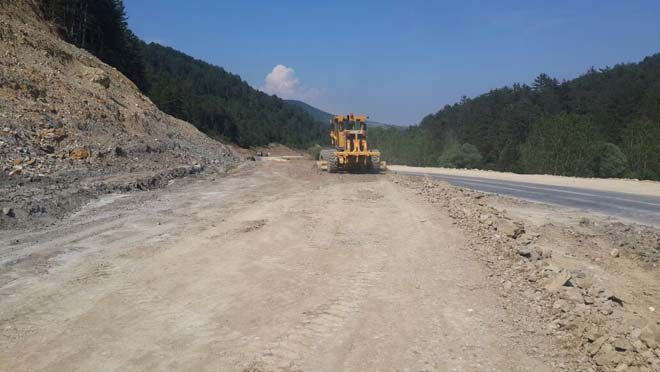 duble yol hilesi zayıf asfalt bozuk çökme mudurnu