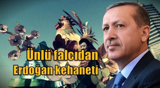 Ünlü falcıdan Cumhurbaşkanı Erdoğan için referandum kehaneti
