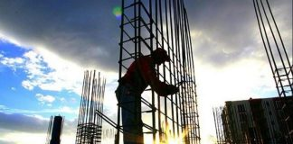 İnşaat malzemeleri sanayi endeksi 2016'da 6.5 puan geriledi