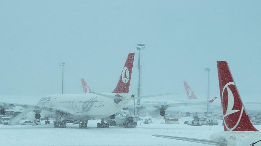 İstanbul'dan sıra dışı kar manzaraları