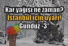 Türkiye geneli yeniden kar yağışlı soğuk havanın etkisi altına giriyor. İstanbul, Ankara ve Bursa'da kar ne zaman başlayacak? İşte detaylar...