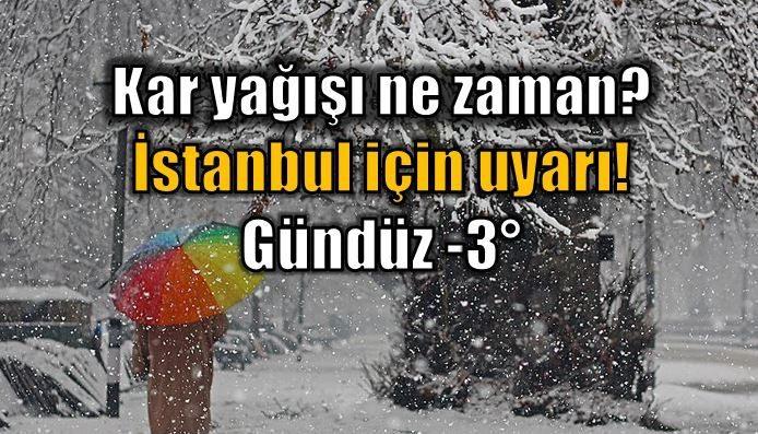 Türkiye geneli yeniden kar yağışlı soğuk havanın etkisi altına giriyor. İstanbul, Ankara ve Bursa'da kar yağışı ne zaman başlayacak?