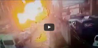 izmir adliye saldırısı terör patlama anı görüntüleri video