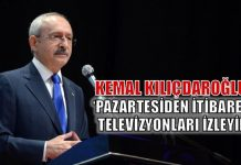 Kemal Kılıçdaroğlu: Pazartesi televizyonları izleyin!