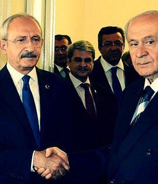 Kemal Kılıçdaroğlu ile Devlet Bahçeli'nin kritik görüşmesi