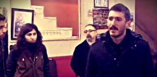 Kahvehanede laiklik çağrısı yapan iki genç tutuklandı