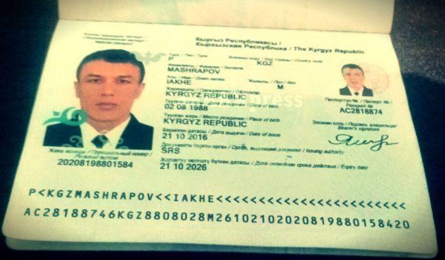 Kırgız haber ajansı AKIpress'te yayınlanan o haber mahrapov saldırgan ben değilim