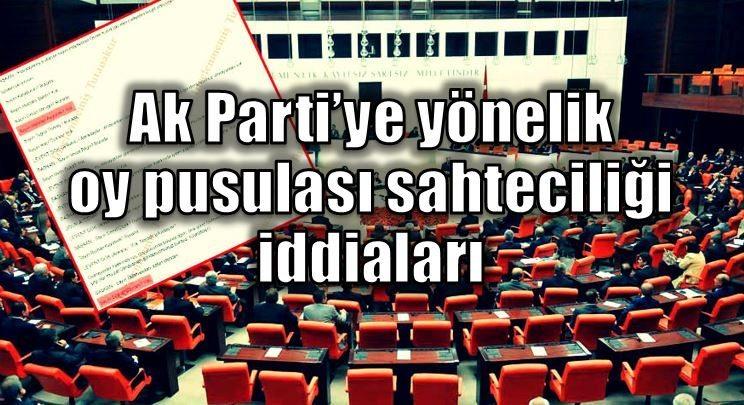 Meclis'te anayasa görüşmeleri oy sahteciliği iddiası ile başladı