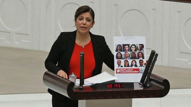 HDP'li Beştaş: 'Varlığım Cumhurbaşkanı'na armağan olsun' demektir