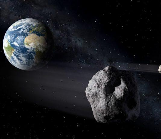 NASA açıkladı: Göktaşı dünyaya teğet geçti