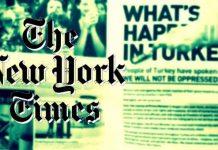 New York Times Türkiye'deki muhabirlerinin isimlerini gizledi