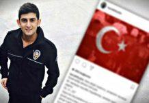 Ortaköy'de şehit olan Burak Yıldız'ın son paylaşımı