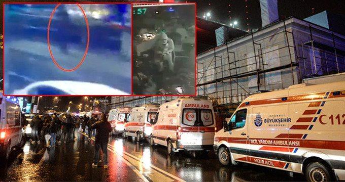 reina saldırısı ilk görüntüler