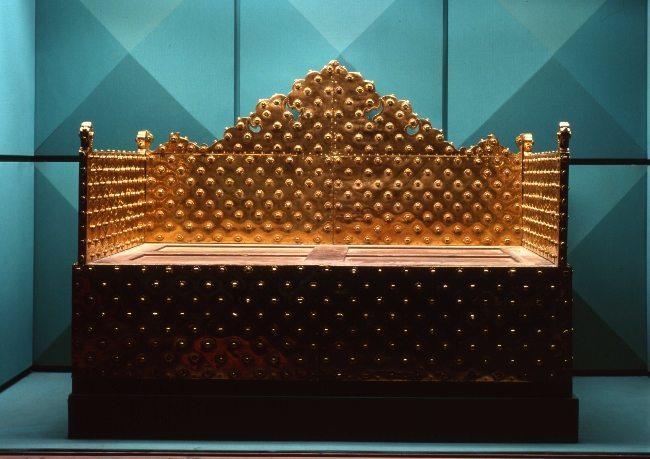 Osmanlı İmparatorluğu Hazinesi altın taht