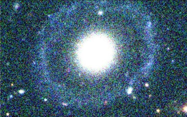 Türk bilim insanı yeni bir galaksi keşfetti