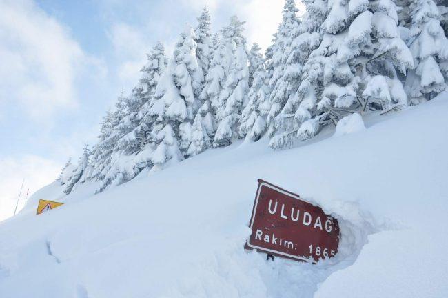 Bursa hava durumu: Uludağ'da kar kalınlığı 2 metreyi aşacak ne zaman kar başlayacak