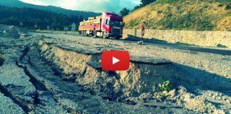 Video: Duble yol hilesini gösteren vatandaş