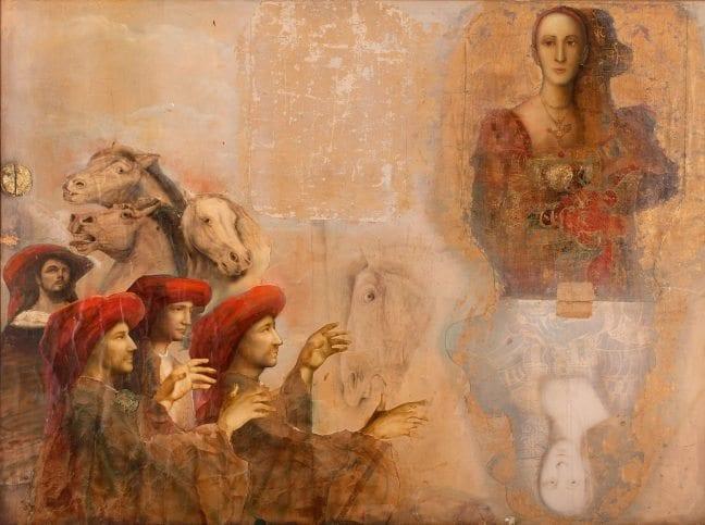 "Mersad Berber'in ""Bir Bosna Alegorisi"" sergisi"