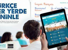 """Yunus Emre Enstitüsü: """"Uzaktan Türkçe Öğretim Portalı""""nı kullanıma açtı"""