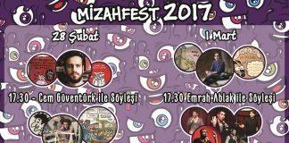 """İTÜ """"Mizahfest 2017""""de karikatürün önemli isimleri sahne alacak"""