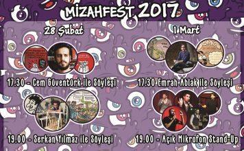 """İTÜ""""Mizahfest 2017""""de karikatürün önemli isimleri sahne alacak"""