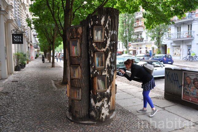 Ağaç kütüphane: Berlin'de kitap okuma hareketi