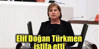 CHP'li Elif Doğan Türkmen Meclis Divan üyeliğinden istifa etti