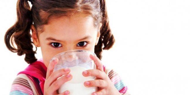 Çocukların süt kullanımı